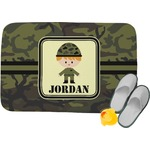 Green Camo Memory Foam Bath Mat (Personalized)