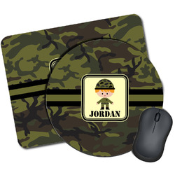 Green Camo Mouse Pads (Personalized)