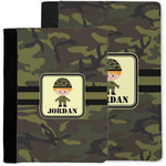 Green Camo Notebook Padfolio w/ Name or Text
