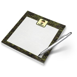 Green Camo Notepad (Personalized)