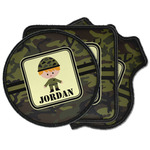 Green Camo Iron on Patches (Personalized)
