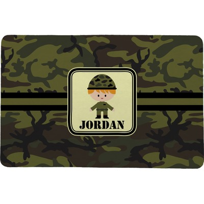 Green Camo Comfort Mat (Personalized)