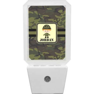 Green Camo Night Light (Personalized)