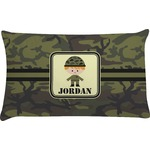 Green Camo Pillow Case (Personalized)