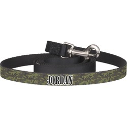 Green Camo Pet / Dog Leash (Personalized)