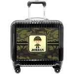 Green Camo Pilot / Flight Suitcase (Personalized)