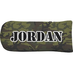 Green Camo Putter Cover (Personalized)