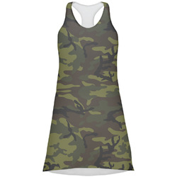 Green Camo Racerback Dress (Personalized)