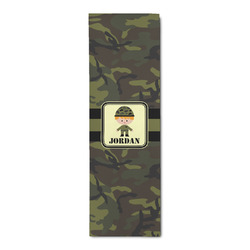 Green Camo Runner Rug - 3.66'x8' (Personalized)