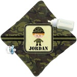Green Camo Security Blanket (Personalized)