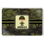 Green Camo Serving Tray (Personalized)