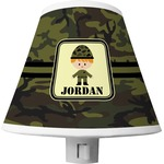Green Camo Shade Night Light (Personalized)