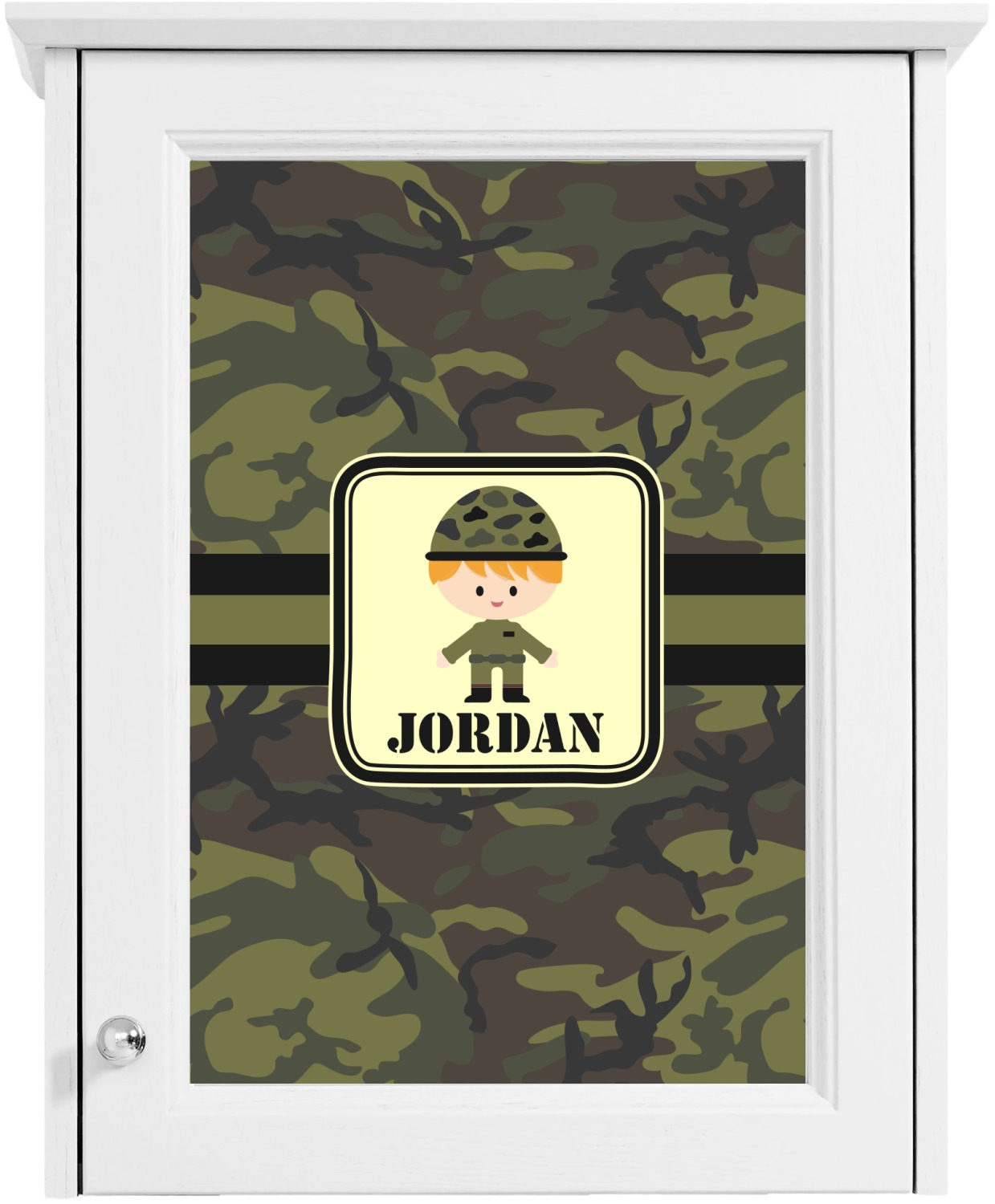 green camo cabinet decal custom size personalized With kitchen colors with white cabinets with army stickers and decals