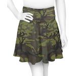 Green Camo Skater Skirt (Personalized)