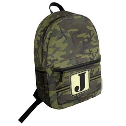 Green Camo Student Backpack (Personalized)
