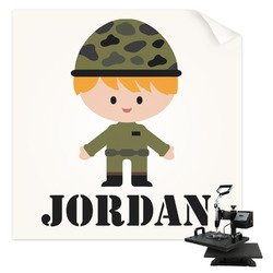 Green Camo Sublimation Transfer (Personalized)