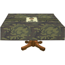 Green Camo Tablecloth (Personalized)