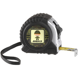 Green Camo Tape Measure (25 ft) (Personalized)