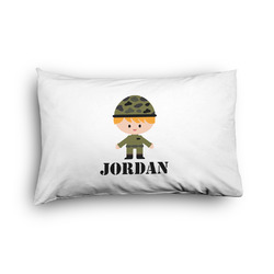 Green Camo Pillow Case - Toddler - Graphic (Personalized)