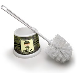 Green Camo Toilet Brush (Personalized)