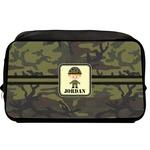Green Camo Toiletry Bag / Dopp Kit (Personalized)