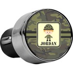 Green Camo USB Car Charger (Personalized)