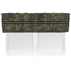 Green Camo Valance (Personalized)