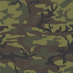 Green Camo Wallpaper & Surface Covering