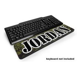 Green Camo Keyboard Wrist Rest (Personalized)