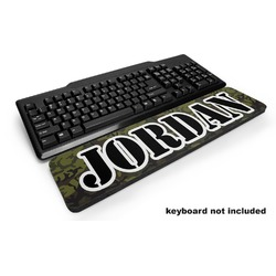 Green Camo Keyboard Wrist Rest (Personalized)