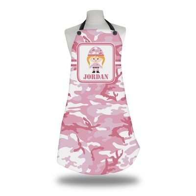 Pink Camo Apron (Personalized)