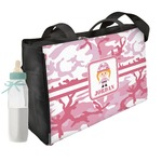 Pink Camo Diaper Bag (Personalized)