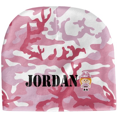 Pink Camo Baby Hat (Beanie) (Personalized)