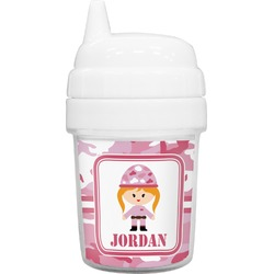 Pink Camo Baby Sippy Cup (Personalized)