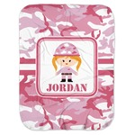 Pink Camo Baby Swaddling Blanket (Personalized)