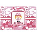Pink Camo Woven Mat (Personalized)