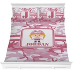 Pink Camo Comforter Set (Personalized)