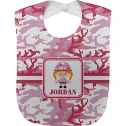 Pink Camo Baby Bib (Personalized)
