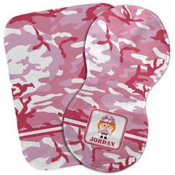 Pink Camo Burp Cloth (Personalized)