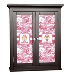 Pink Camo Cabinet Decal - Custom Size (Personalized)