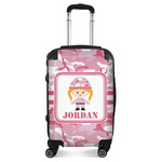 Pink Camo Suitcase (Personalized)