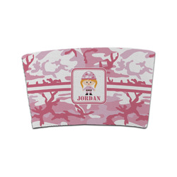 Pink Camo Coffee Cup Sleeve (Personalized)