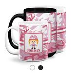 Pink Camo Coffee Mugs (Personalized)