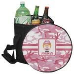 Pink Camo Collapsible Cooler & Seat (Personalized)