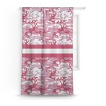 Pink Camo Curtain (Personalized)