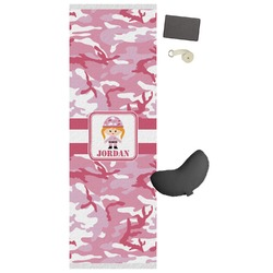 Pink Camo Yoga Mat (Personalized)
