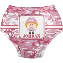 Pink Camo Diaper Cover (Personalized)
