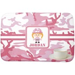 Pink Camo Dish Drying Mat (Personalized)