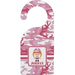 Pink Camo Door Hanger (Personalized)