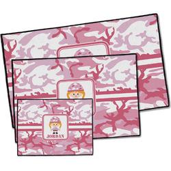 Pink Camo Door Mat (Personalized)